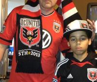D.C. United Father and Son