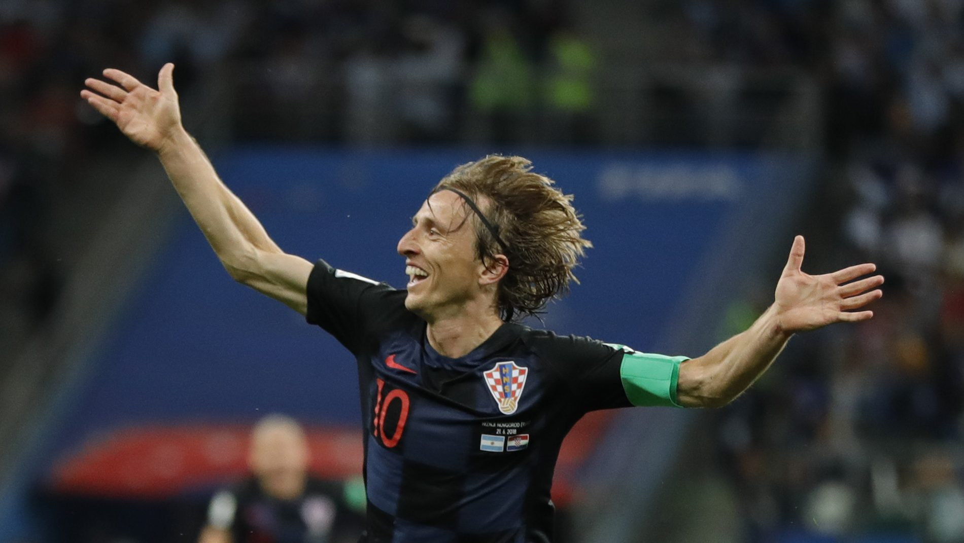 Modric urges humility after big win, stunning goal (video)