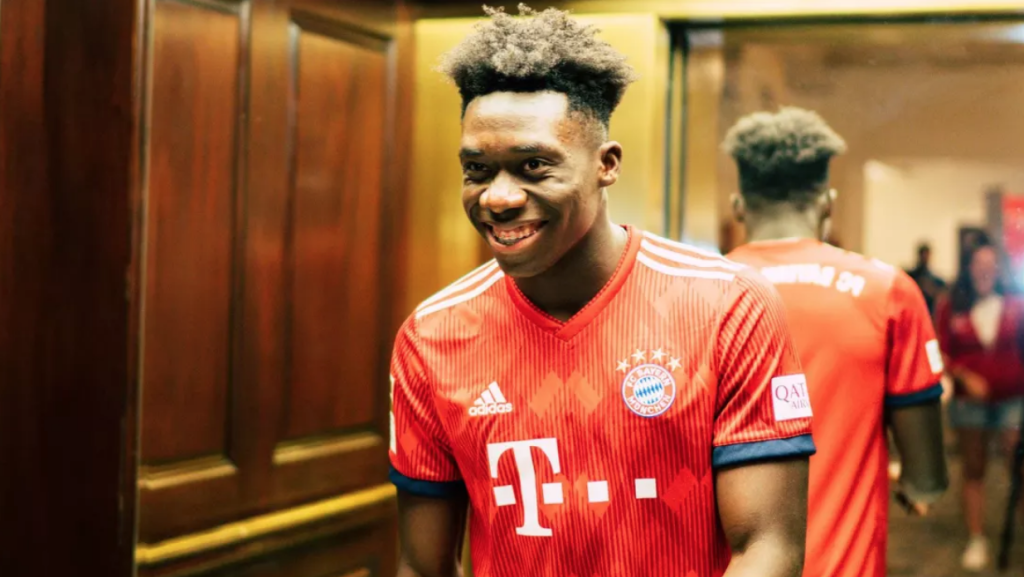 Alphonso Davies wins Champions League