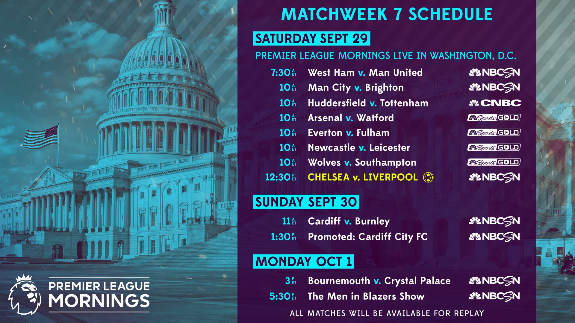 nbc sports channel soccer schedule
