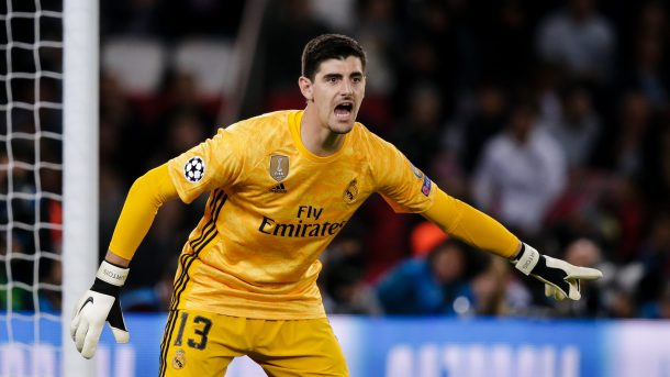 Real Madrid Insists Courtois Didn't Have Anxiety Attack