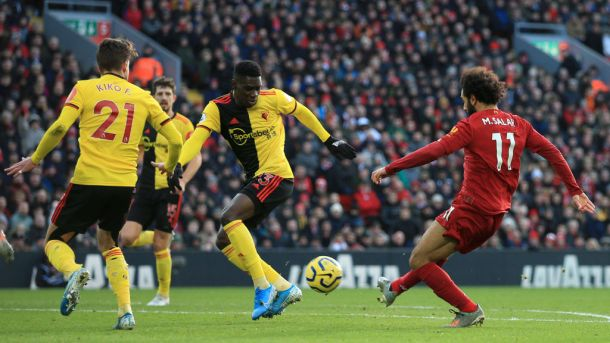 Watch Live: Watford v. Liverpool