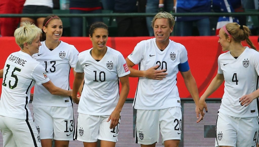 USWNT Best XI of the decade (2010s)