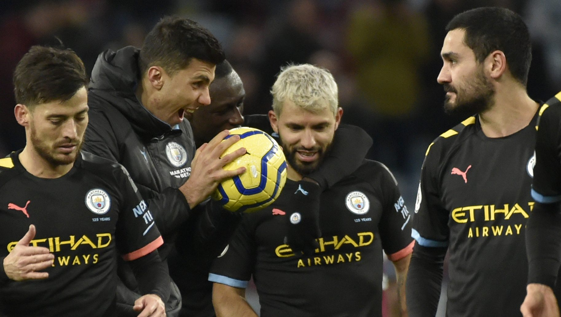 """Pep on record-collecting Aguero: """"He's a legend and legends rise"""""""