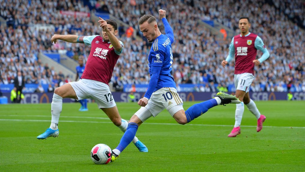 Watch Live: Burnley v. Leicester City