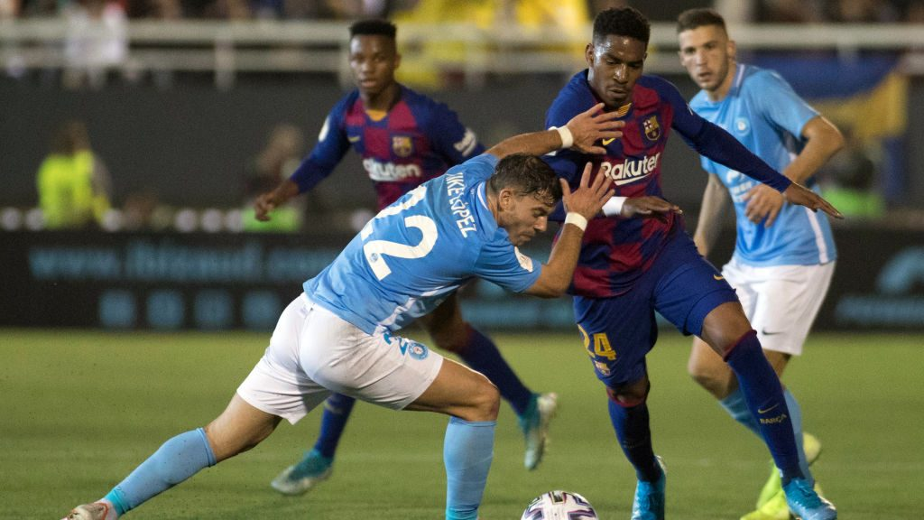 Griezmann's second half brace saves Barcelona from shock upset in Ibiza