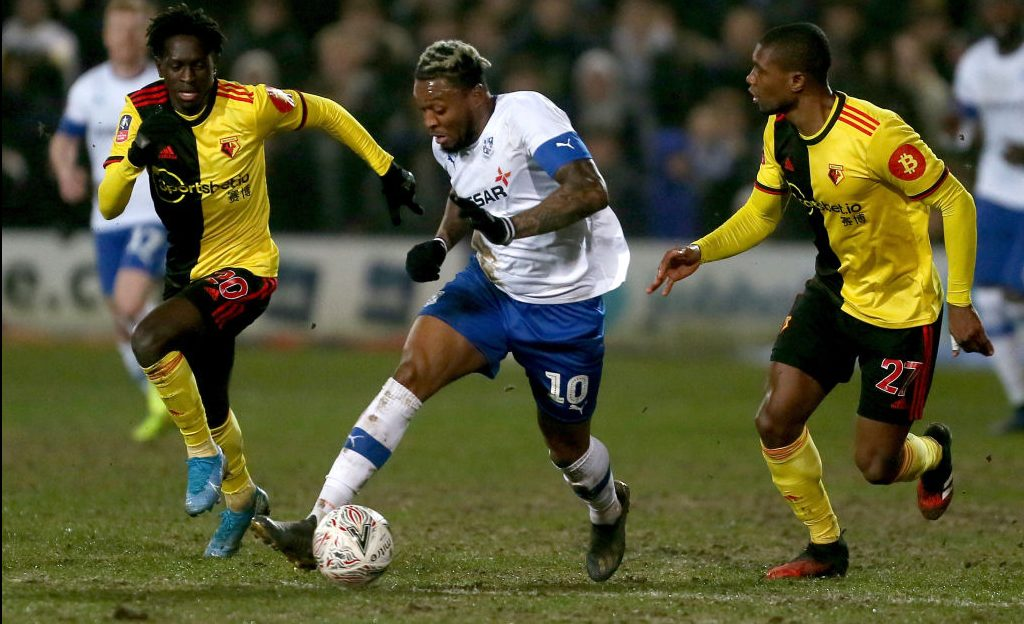 Tranmere upsets Watford in FA Cup