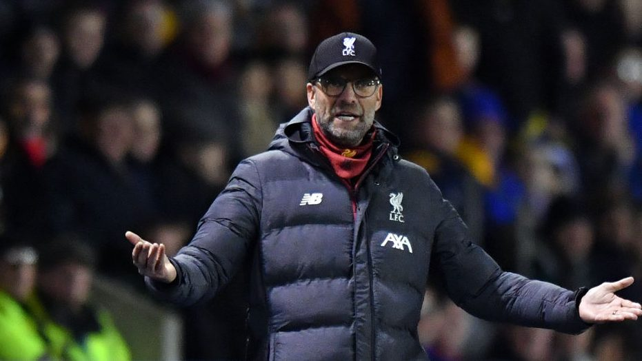 Klopp admits Liverpool youngsters will feature in Shrewsbury replay