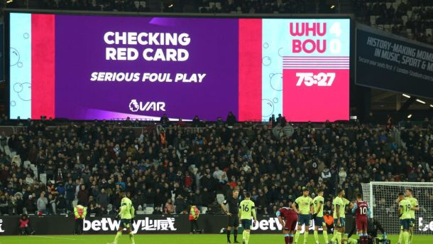 Premier League tells referees to view replays for red cards