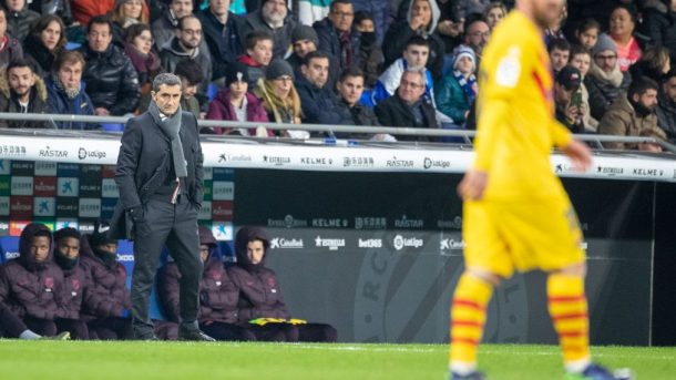 Valverde in question as Barcelona speaks with Xavi