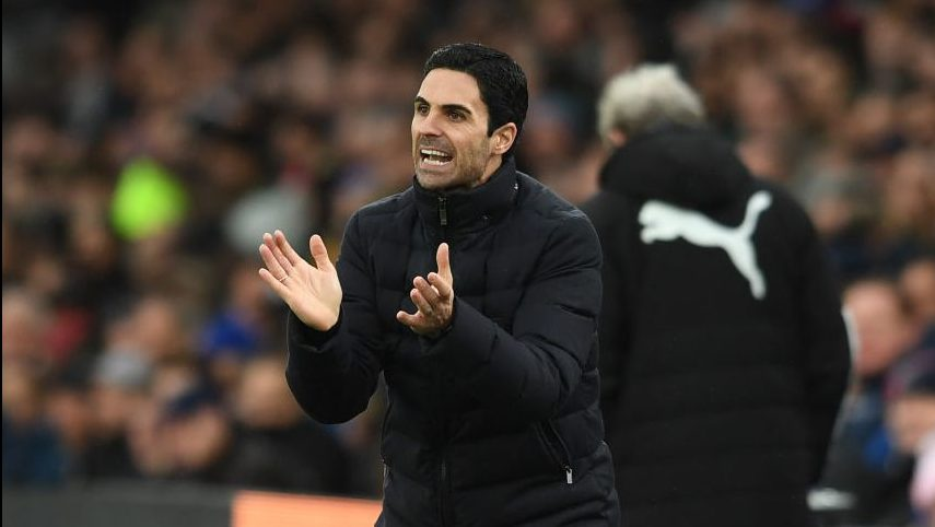 Arteta reacts to Arsenal draw