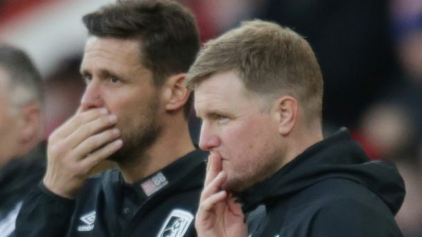 Eddie Howe reacts to Bournemouth loss