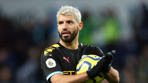 Sergio Aguero breaks Premier League hat trick record