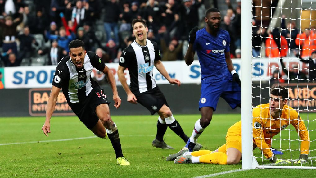 Newcastle stuns misfiring Chelsea in stoppage time