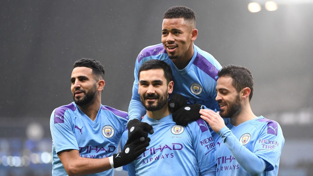 Man City skates past 10-man Fulham in FA Cup