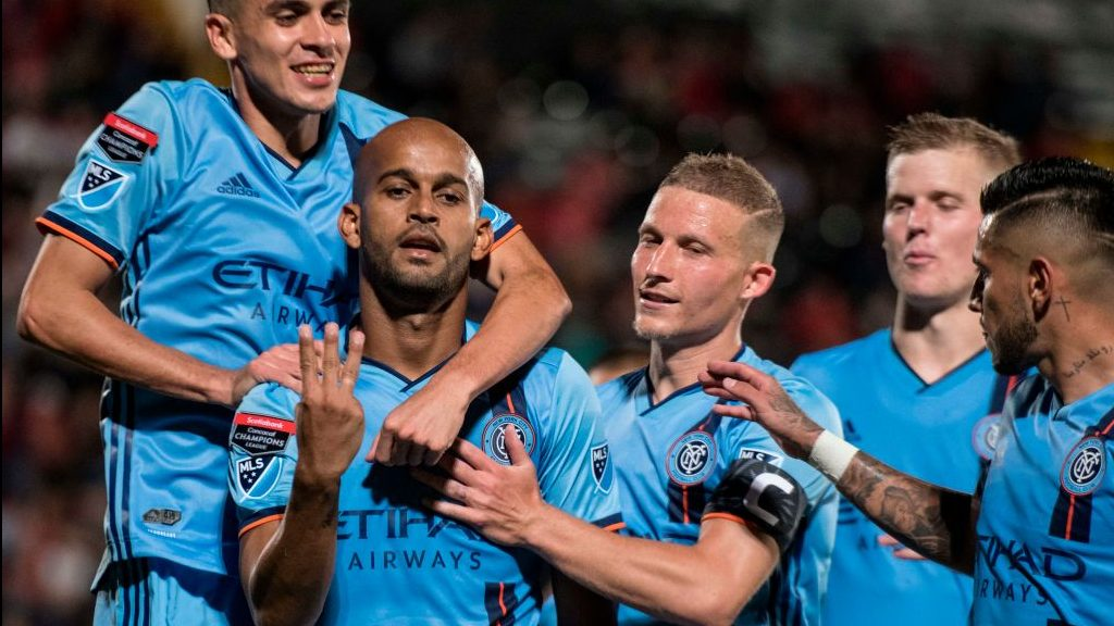 NYCFC grabs five away goals in CONCACAF Champions League opener