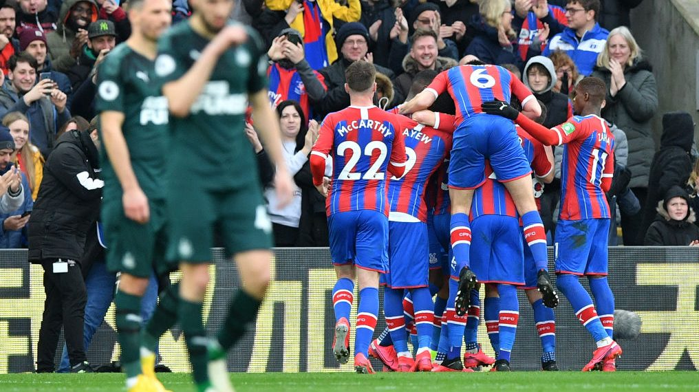 Crystal Palace v. Newcastle United recap and video highlights