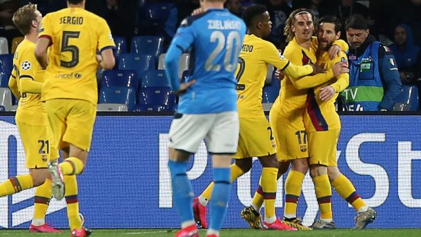 Napoli v. Barcelona recap and video highlights