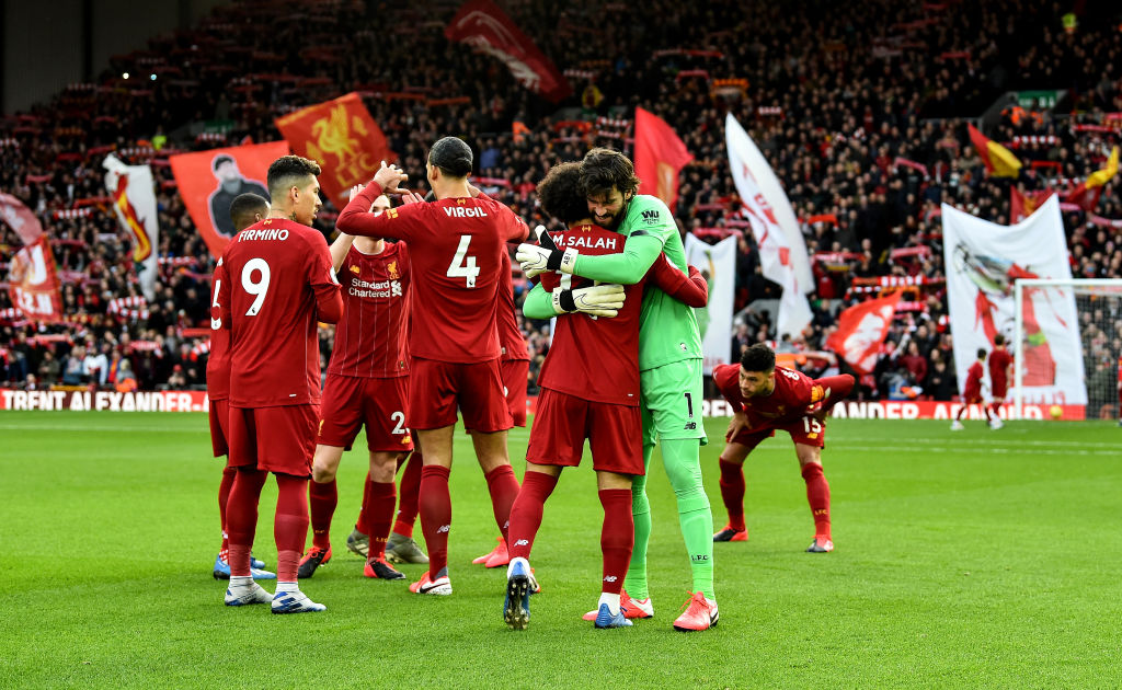 Report Liverpool To Be Crowned Champions ProSoccerTalk NBC Sports