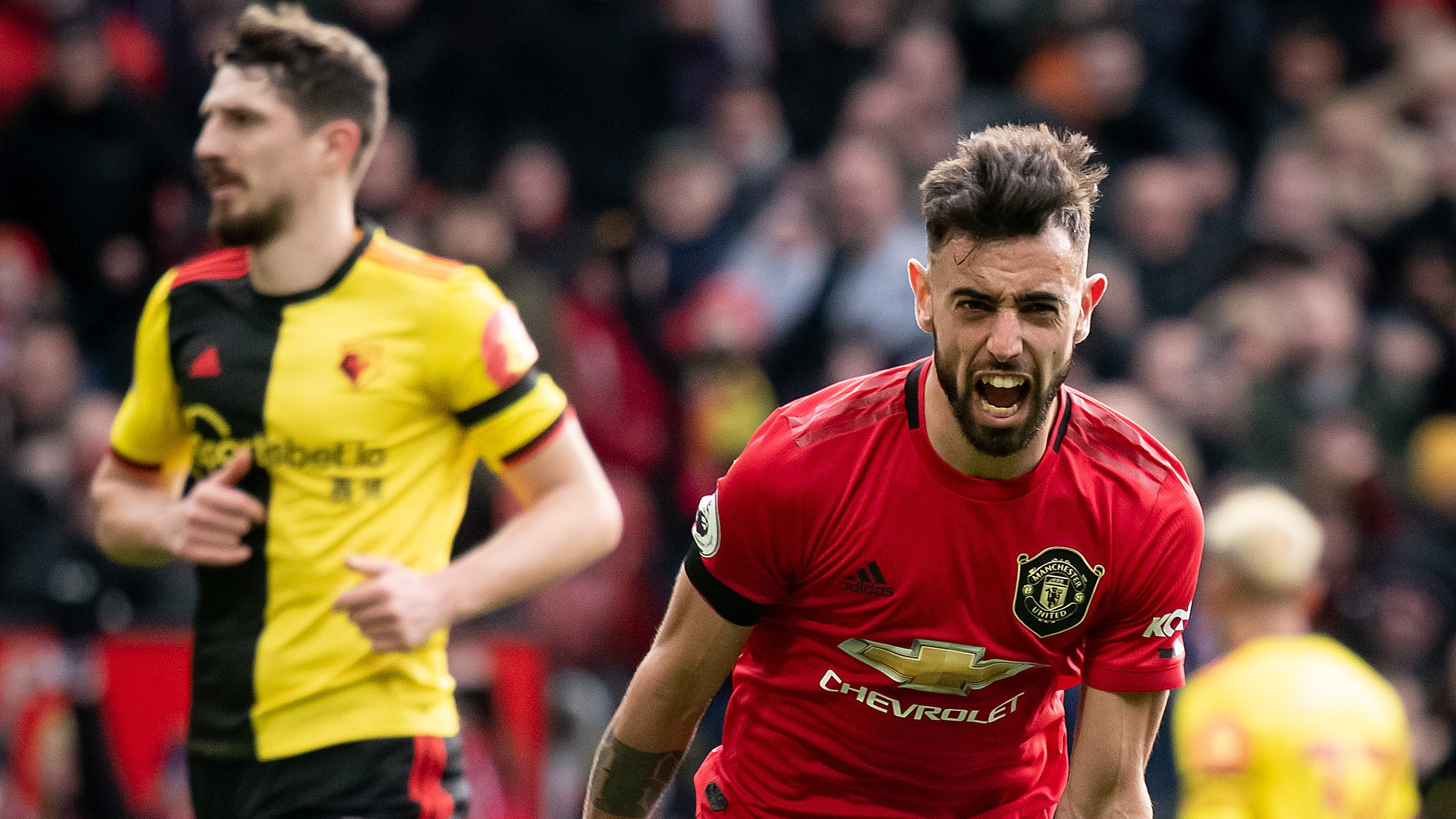 Fernandes runs the show as Manchester United crushes Watford