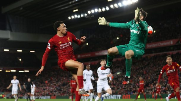 Liverpool v. West Ham recap and video highlights