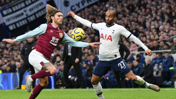Burnley v. Tottenham Hotspur live stream and lineups