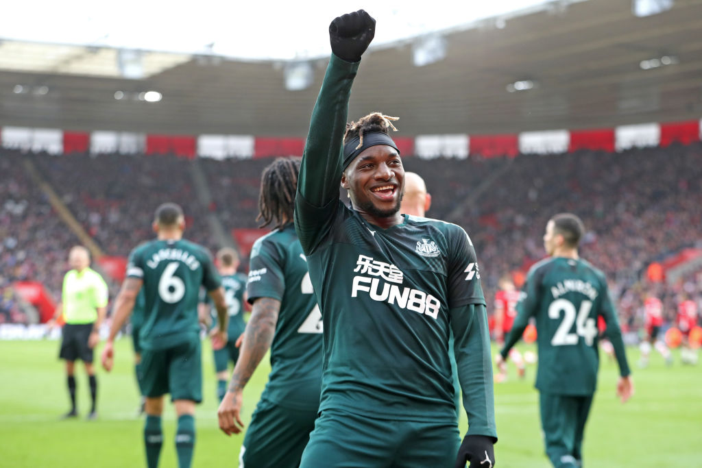 Saint-Maximin to Arsenal