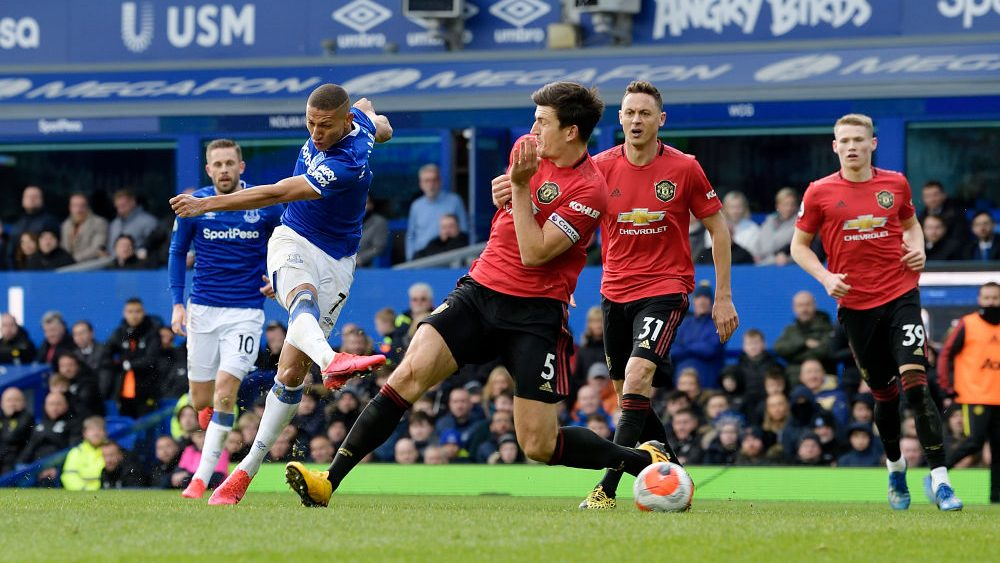 Wild Var Ending Leaves Everton Manchester United Level