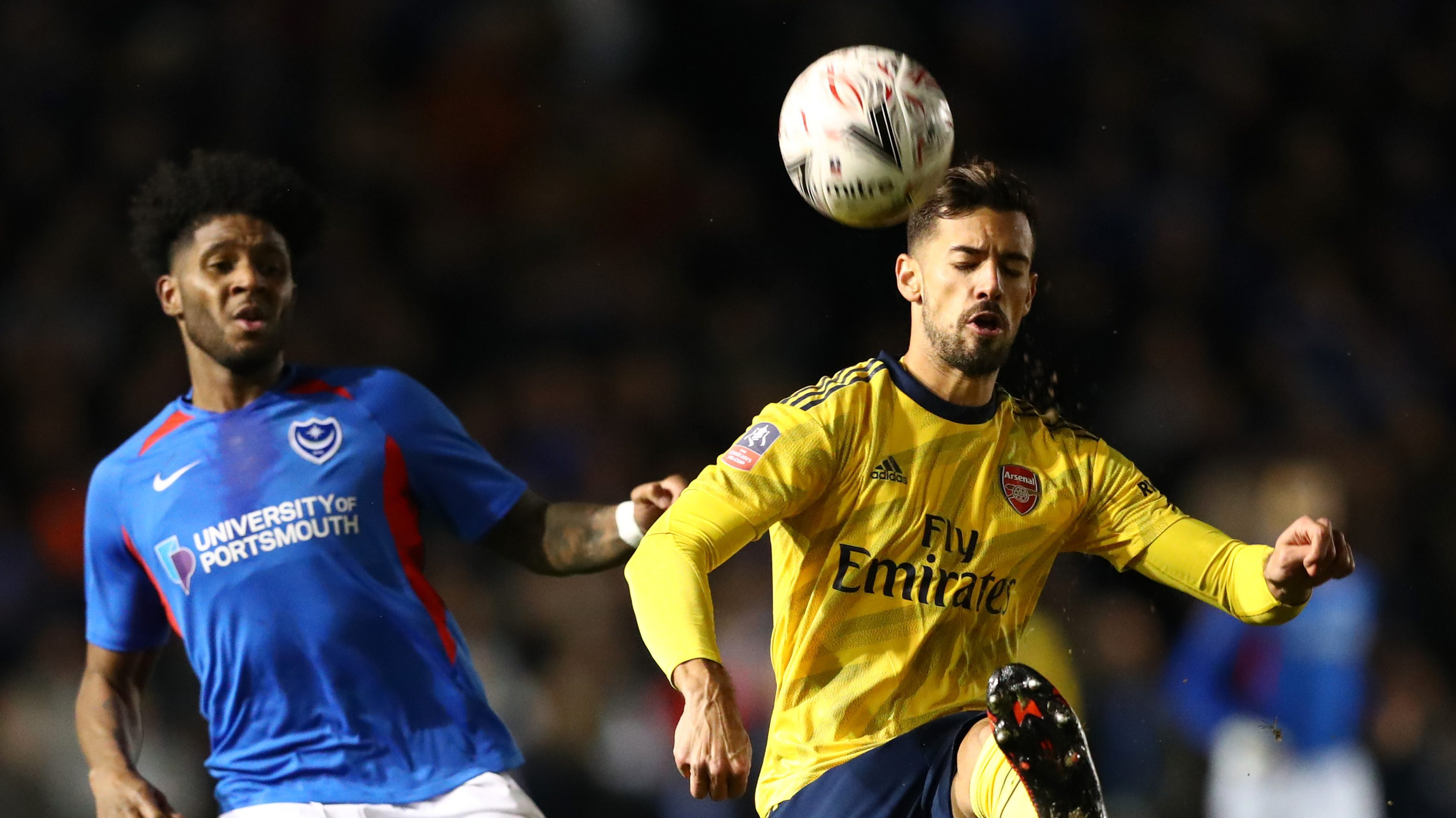 Arsenal Handles Portsmouth To Advance In Fa Cup