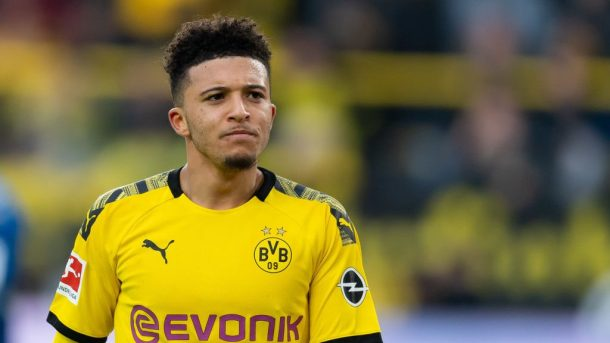 Jadon Sancho to Man United