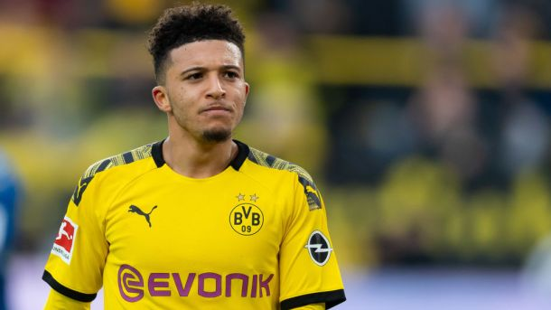 Jadon Sancho to Manchester United