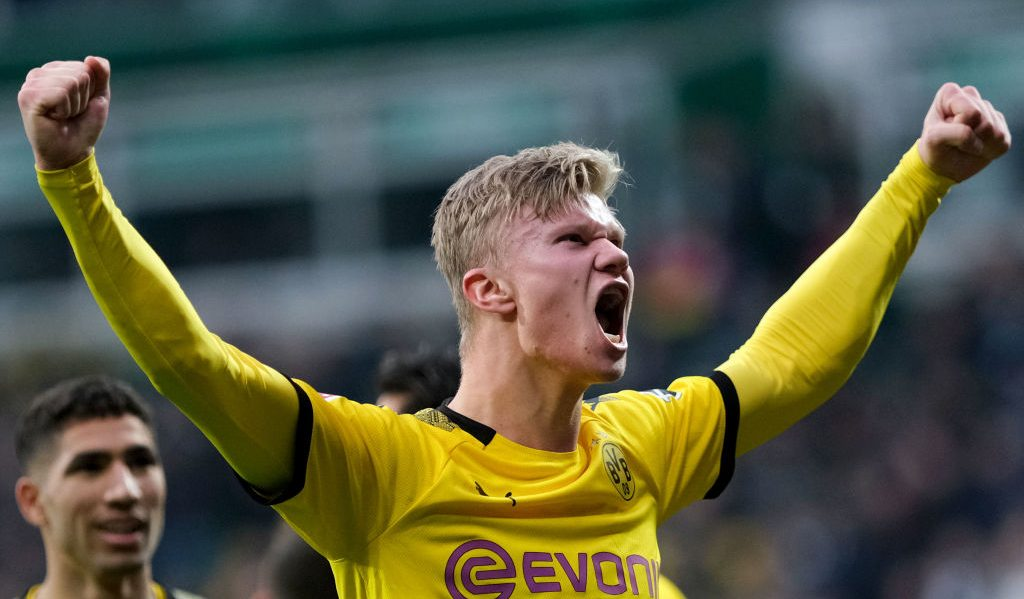 Report Haaland S Dortmund Release Clause Inactive For Two Years