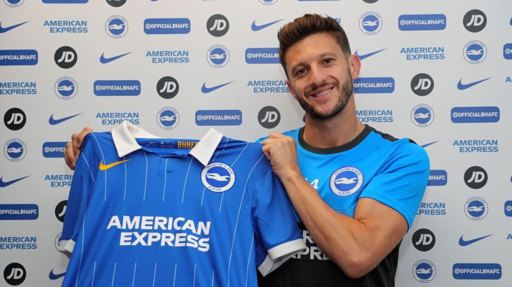 Lallana signs for Brighton