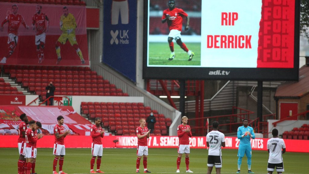 Nottingham Forest player mourned
