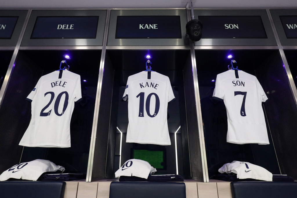 Tottenham New Kits Photos And Details As Spurs Release New Jersey