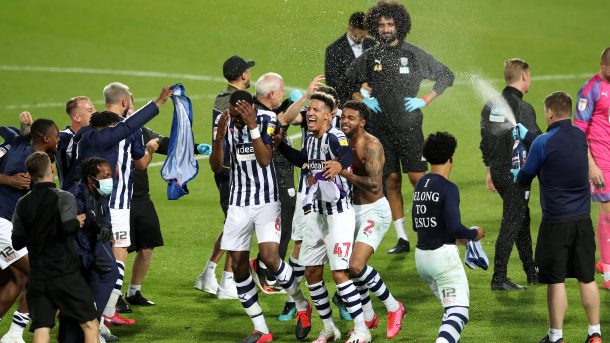 West Bromwich Albion promoted