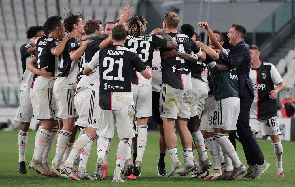 juventus title ninth straight serie a title as cristiano ronaldo stars video https soccer nbcsports com 2020 07 26 juventus win record ninth straight serie a title