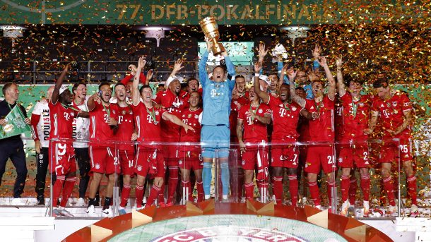 Bayern Munich wins German Cup