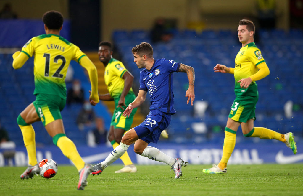 Pulisic world class: USMNT star leads Chelsea to win v Norwich
