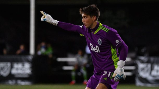 Vancouver Whitecaps goalkeeper emergency