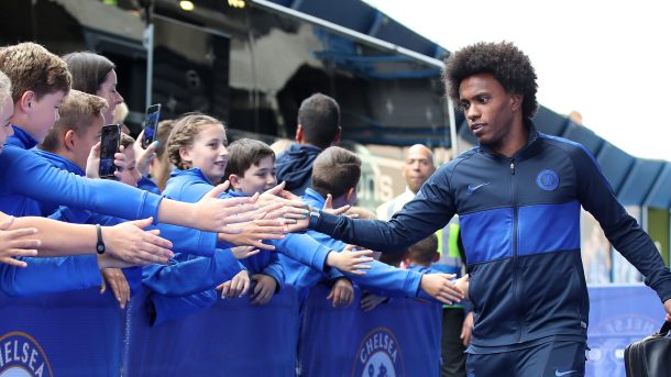 Willian leaves Chelsea
