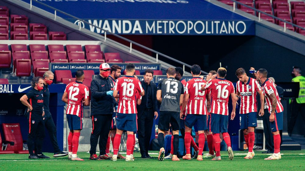 Two Positive Covid Tests For Atletico Madrid Ahead Of Champions League