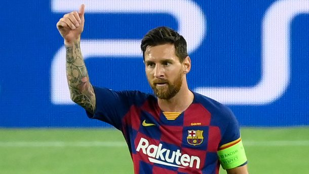 Messi staying at Barcelona