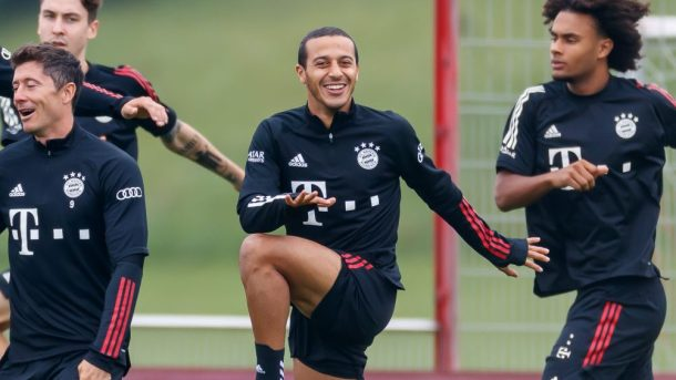 Thiago to Manchester United