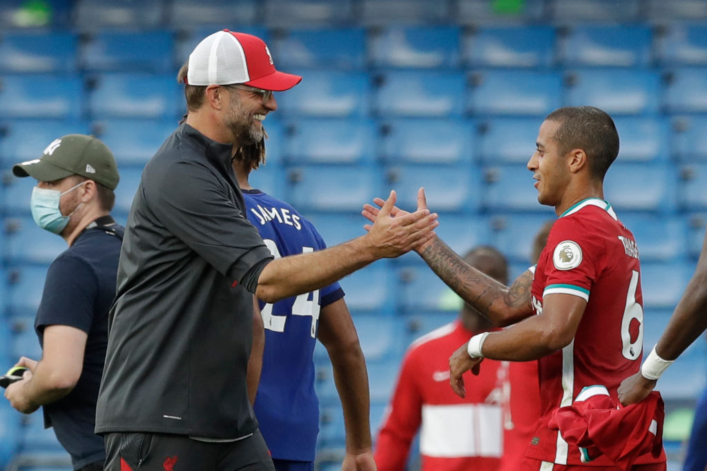 Klopp reaction on Thiago debut, Fabinho; loved 'perfect' Liverpool's hunger