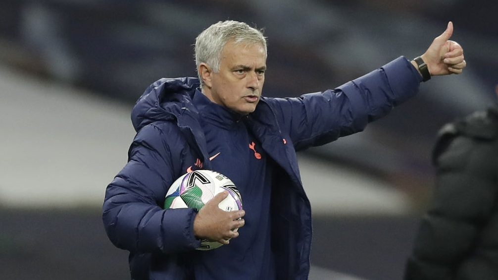 Mourinho reaction