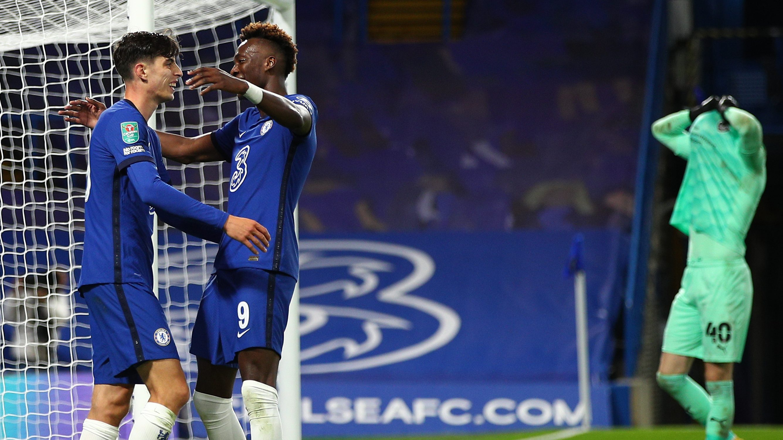 League Cup Havertz Hat Trick As Chelsea Scores 6 Newcastle Hits 7