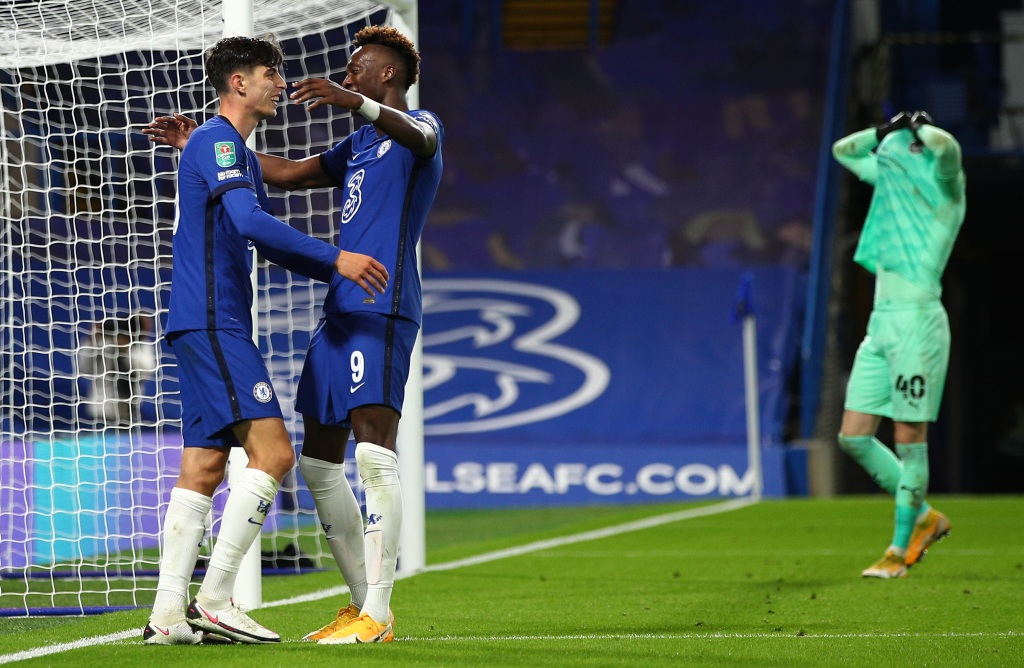 League Cup: Havertz hat trick as Chelsea scores 6, Newcastle hits 7