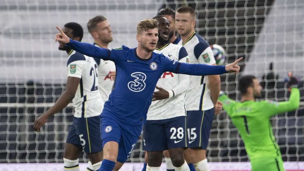 Timo Werner first Chelsea goal