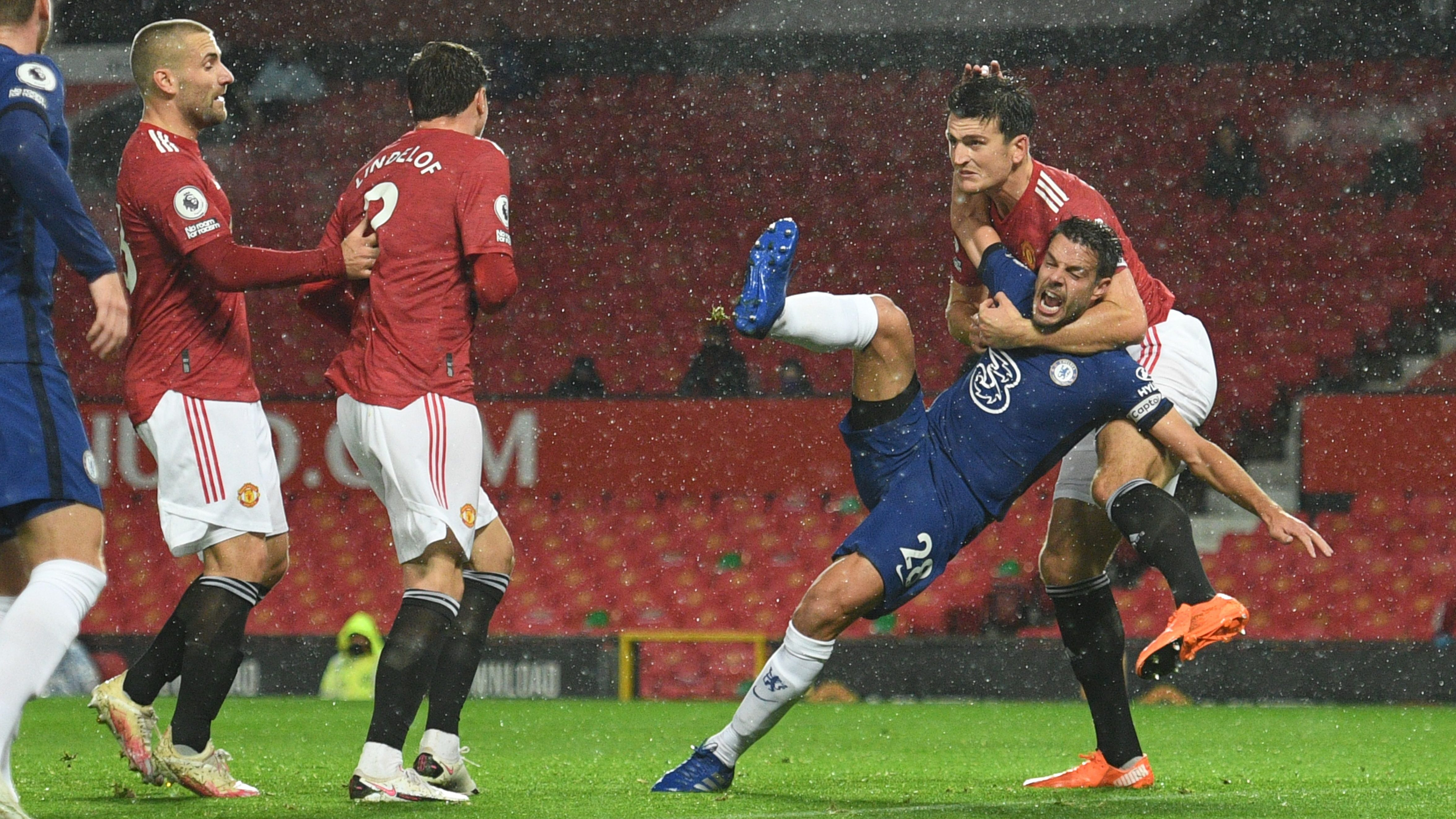 Lampard, Azpilicueta, Ole on 'that' non-penalty at Man United – Chelsea